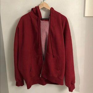 Red brandy hoodie !
